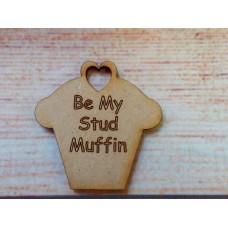 Laser Cut cupcake Stud Muffin